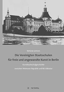 Buch Cover Stefanie Johnen Kunsthochschulgeschichte